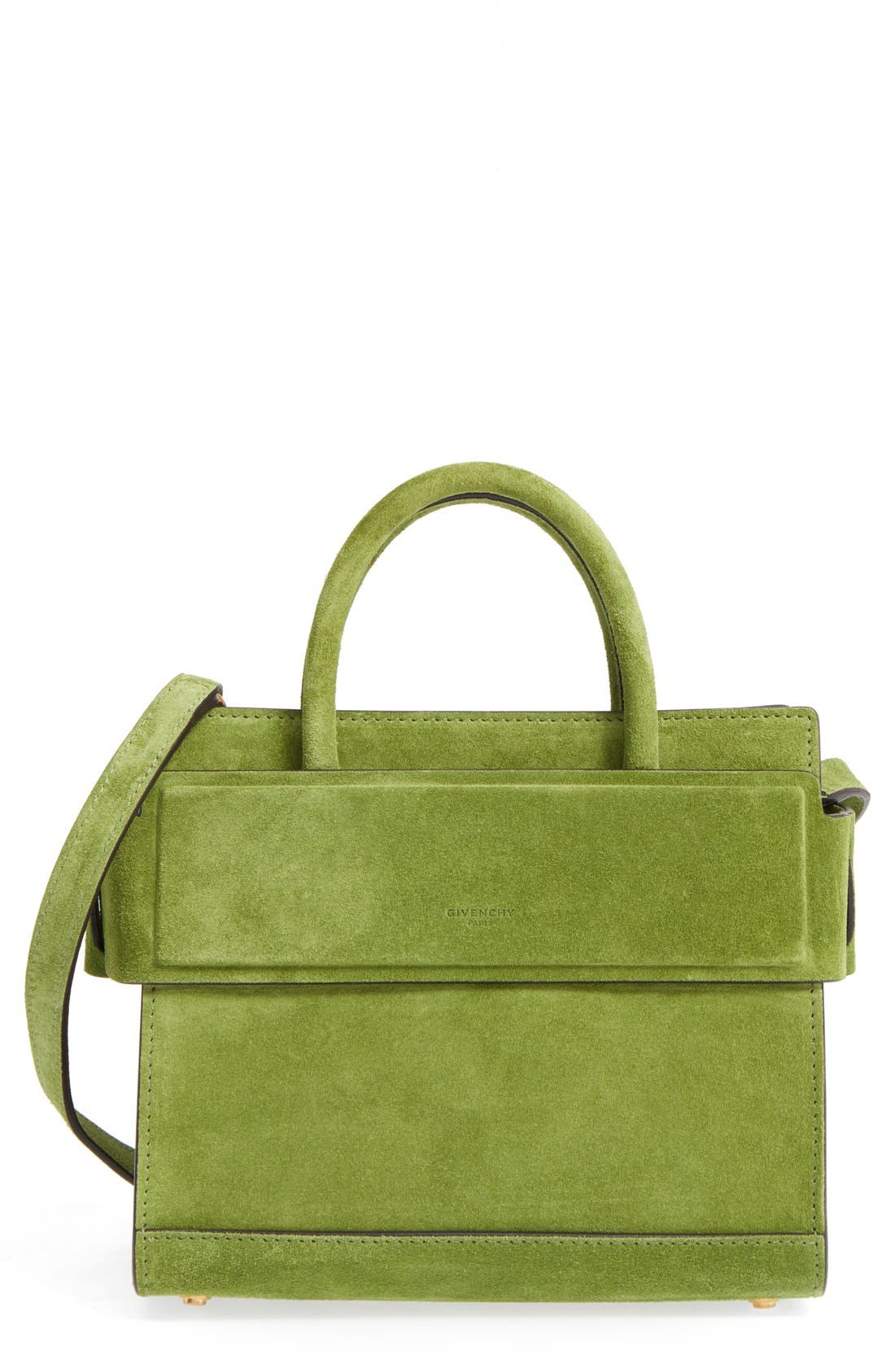 Alternate Image 1 Selected - Givenchy Mini Horizon Suede Tote