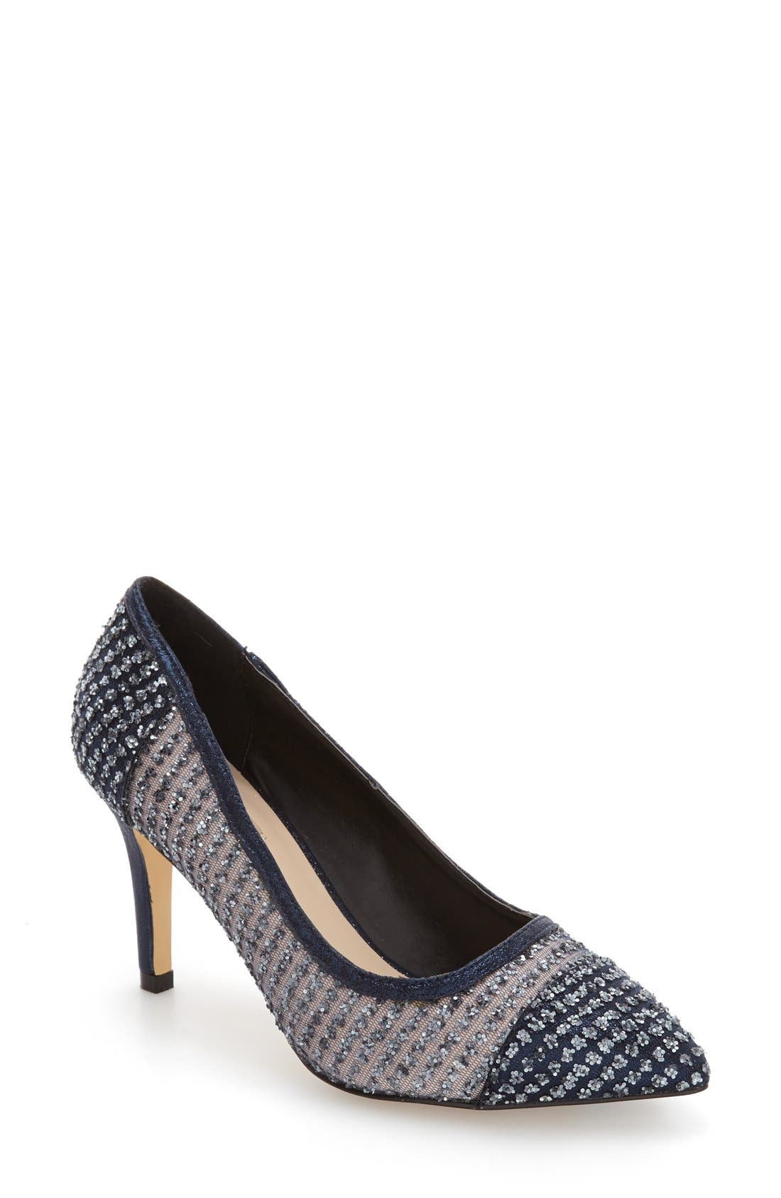 Alternate Image 1 Selected - Menbur Tambre Embellished Pointy Toe Pump (Women)
