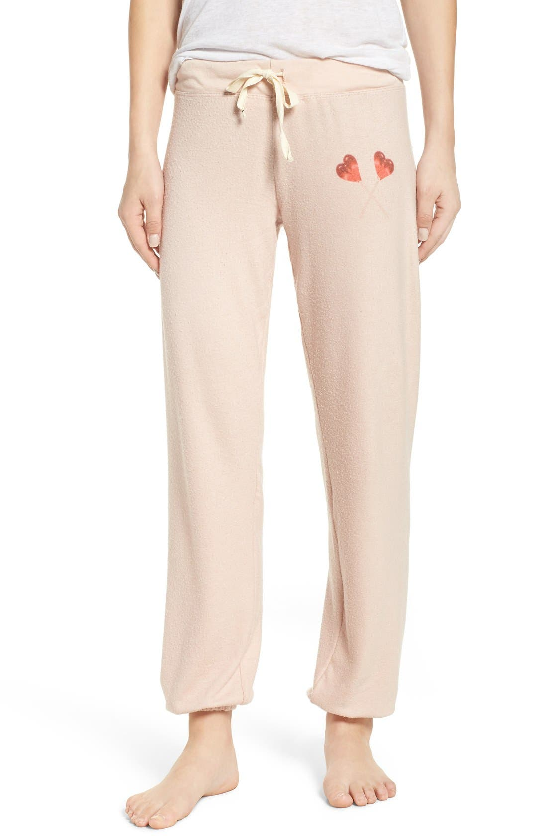 Alternate Image 1 Selected - All Things Fabulous Lollipop Sweatpants