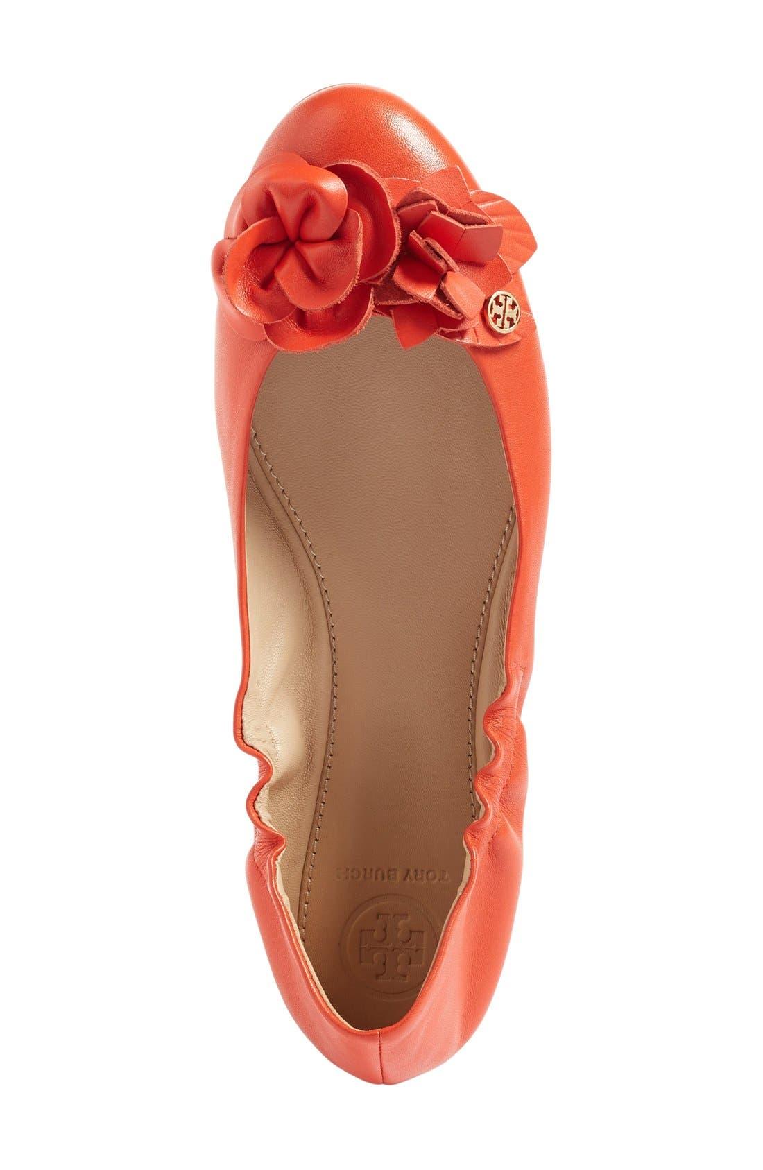 Alternate Image 3  - Tory Burch 'Blossom' Ballet Flat (Women)