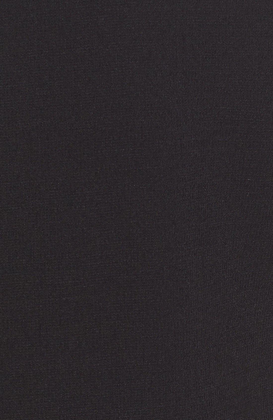 Alternate Image 3  - Dolce&Gabbana Cat Appliqué Wool Blend Crepe Dress