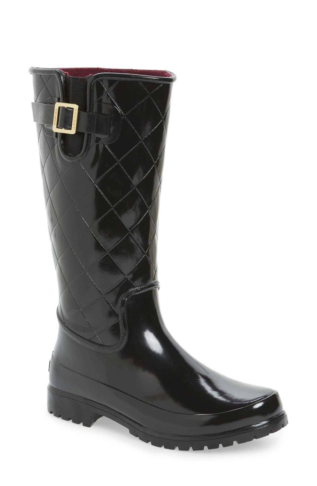 Alternate Image 1 Selected - Sperry Top-Sider® 'Pelican' Tall Rain Boot (Women)