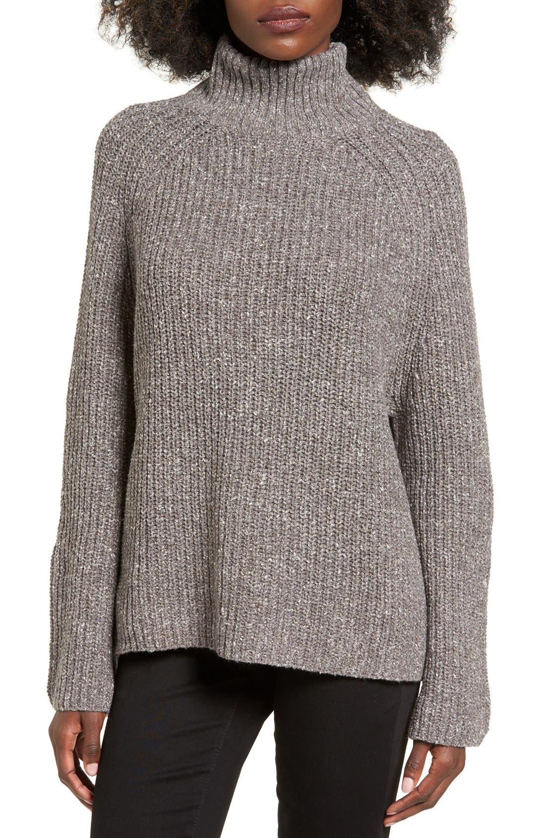 Alternate Image 1 Selected - BP. Mock Neck Sweater