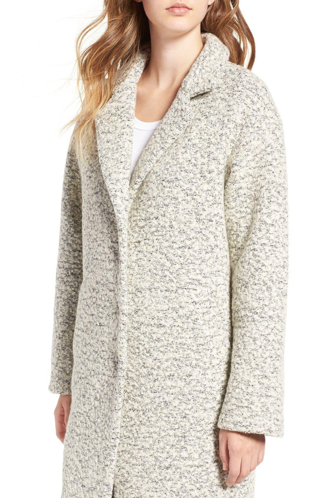 Alternate Image 5  - Glamorous Marled Dress Coat