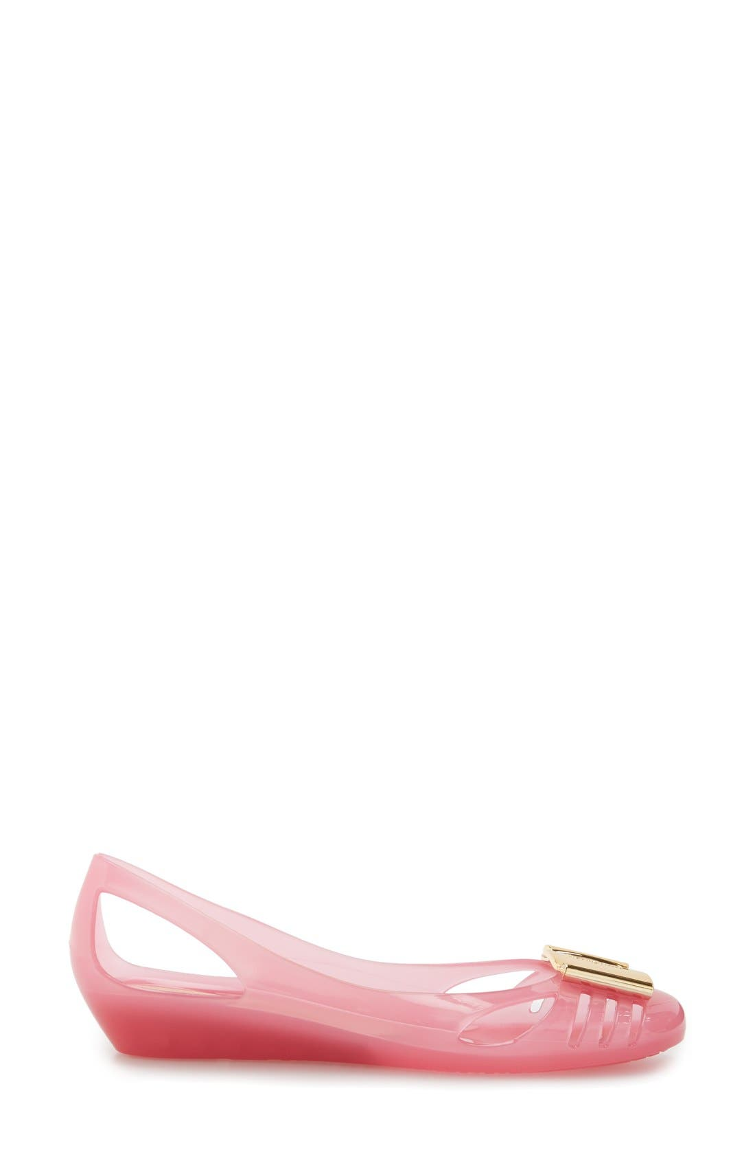 Alternate Image 4  - Salvatore Ferragamo Bermuda Cutout Wedge Sandal (Women)