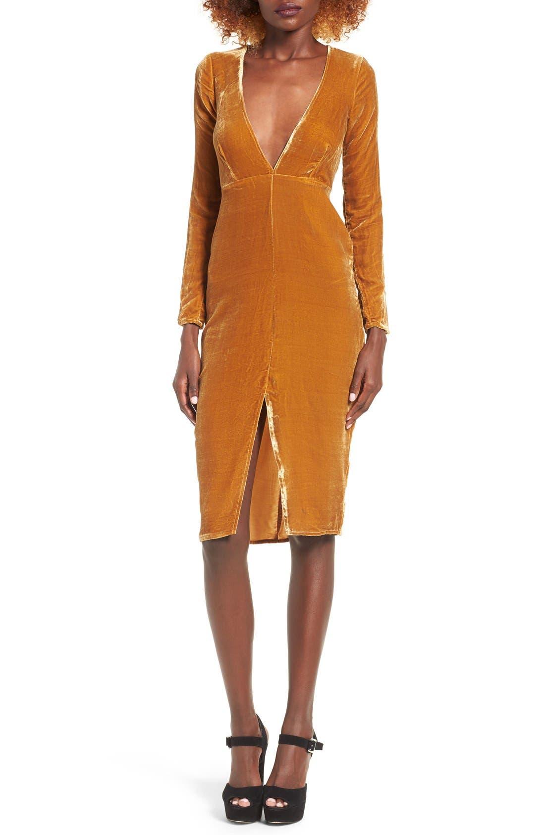 Alternate Image 1 Selected - For Love & Lemons Collette Midi Dress