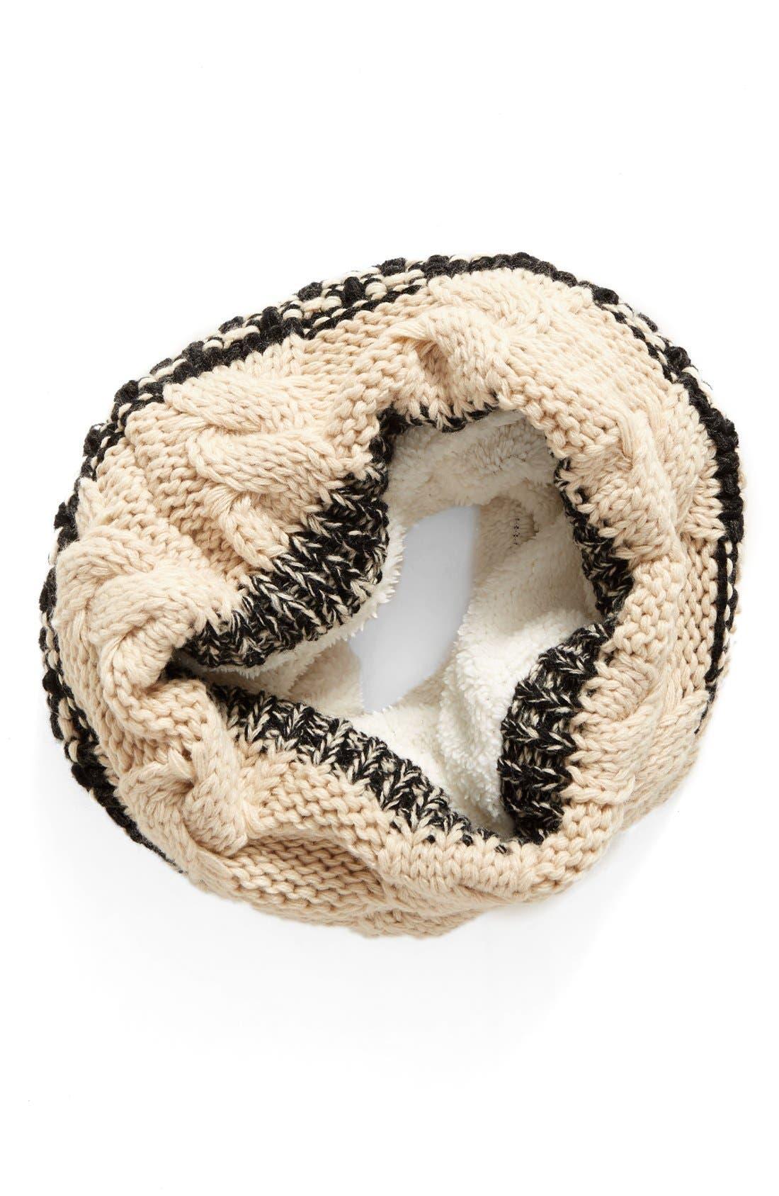 Alternate Image 1 Selected - BP. Faux Fur Infinity Scarf