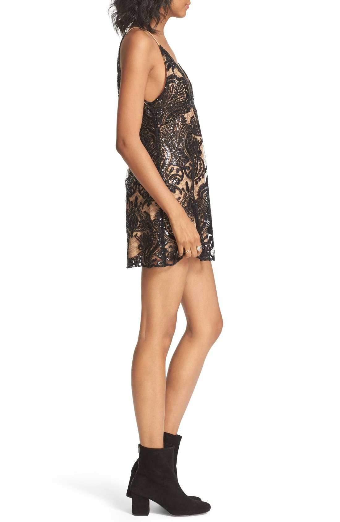 Alternate Image 3  - Free People Night Shimmer Minidress
