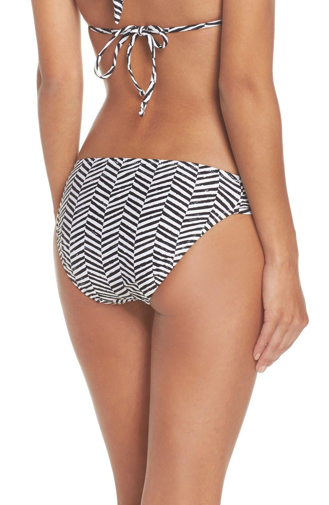 Alternate Image 2  - Trina Turk Brasilia Shirred Hipster Bikini Bottoms
