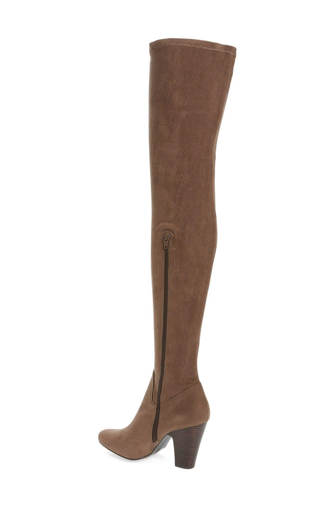 Alternate Image 2  - MIA Emelia Thigh High Boot (Women)