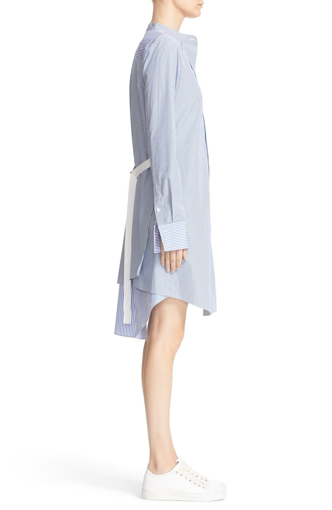 Alternate Image 3  - Theory Jodalee Cotton Poplin Shirtdress