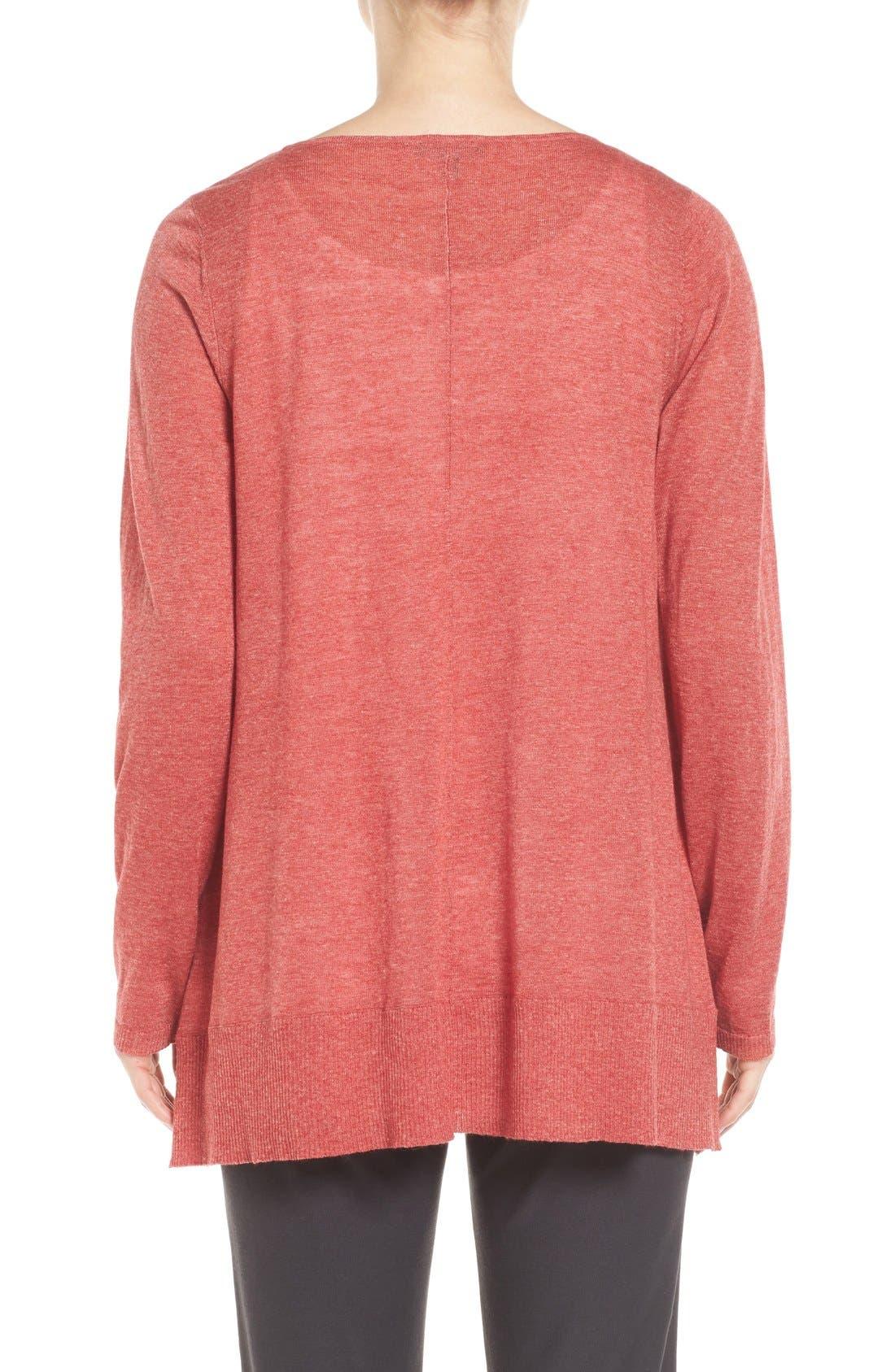 Alternate Image 2  - Eileen Fisher Scoop Neck Sweater (Regular & Petite)