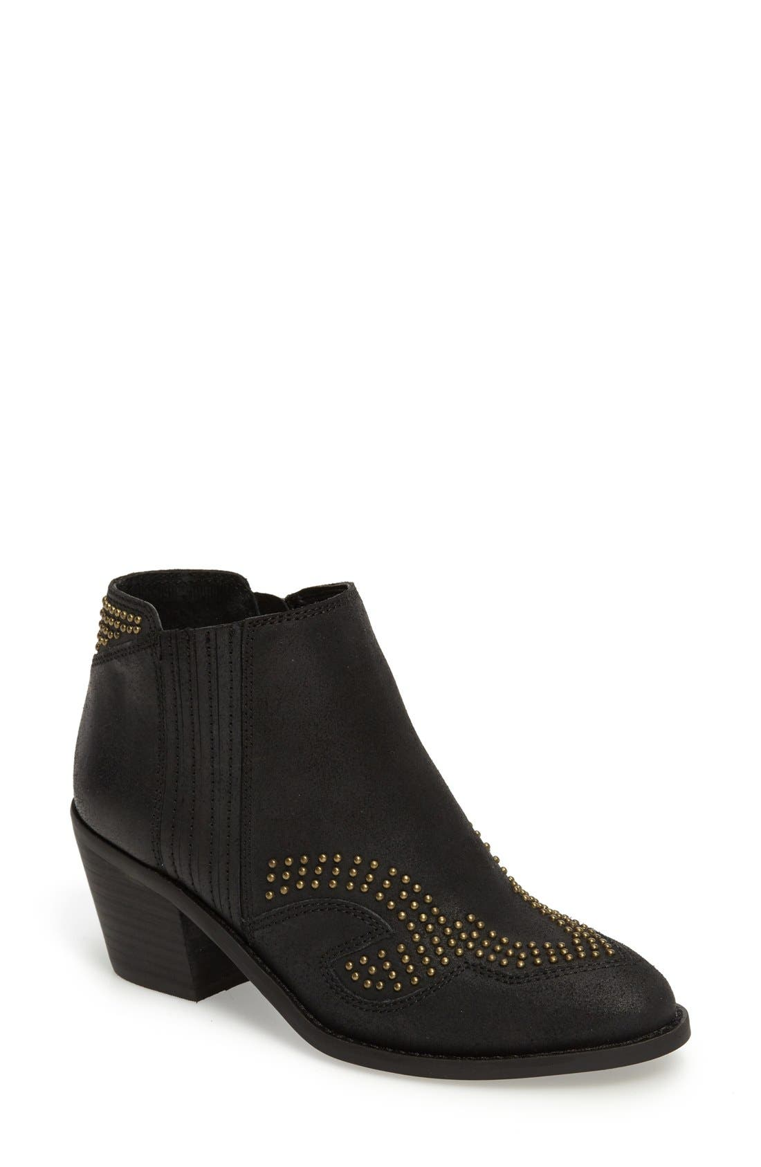 Alternate Image 1 Selected - Lucky Brand Maiaa Studded Bootie (Women)