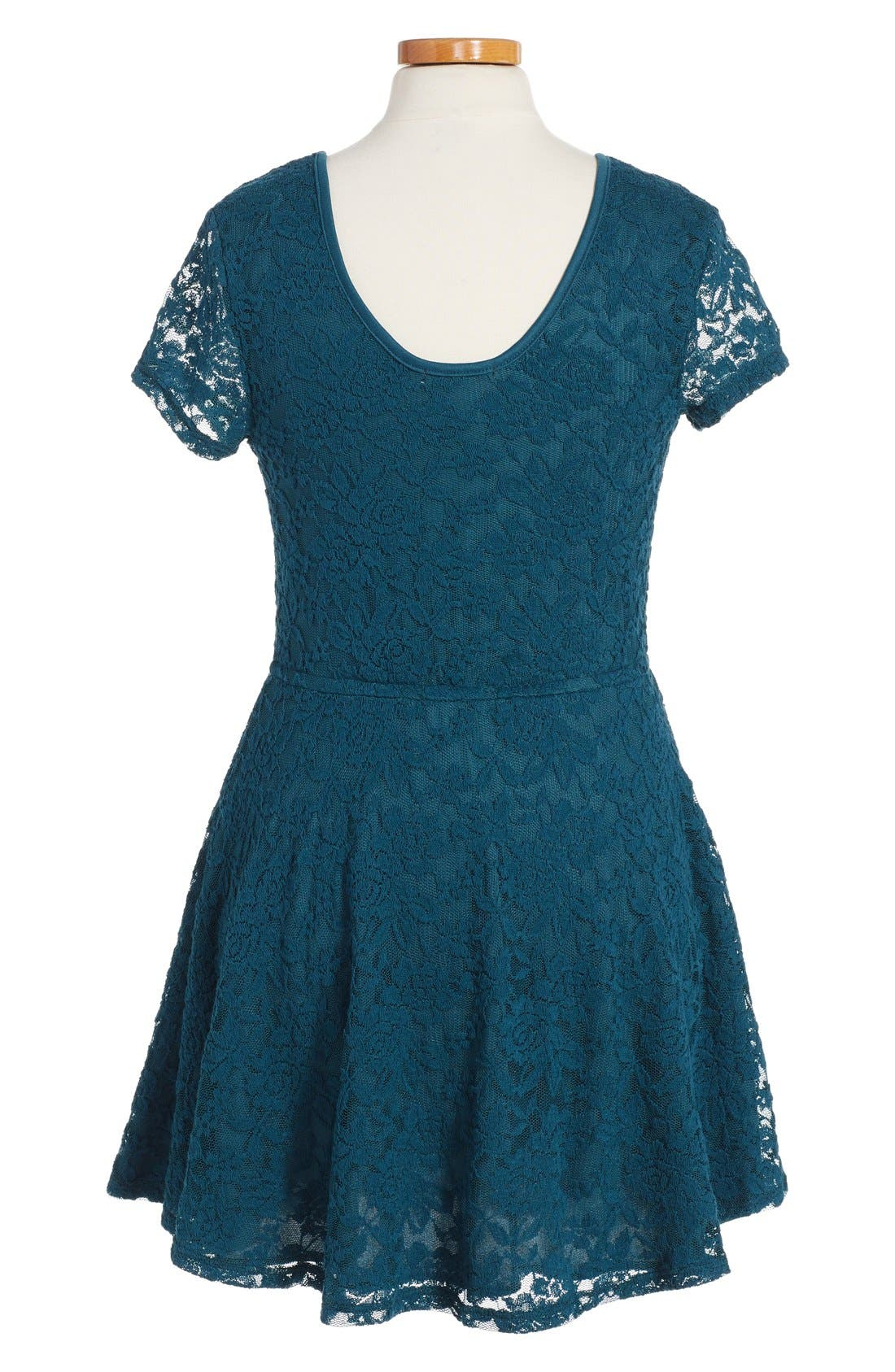 Alternate Image 2  - Ruby & Bloom 'Jessamine' Lace Dress (Little Girls & Big Girls)