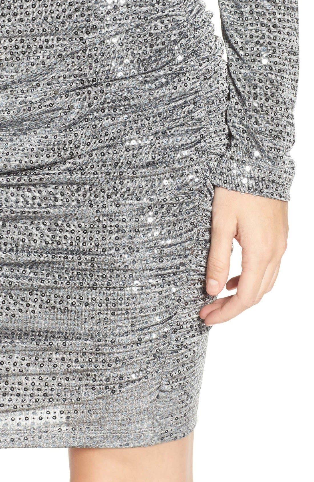 Alternate Image 5  - Vince Camuto Sequin Body-Con Dress