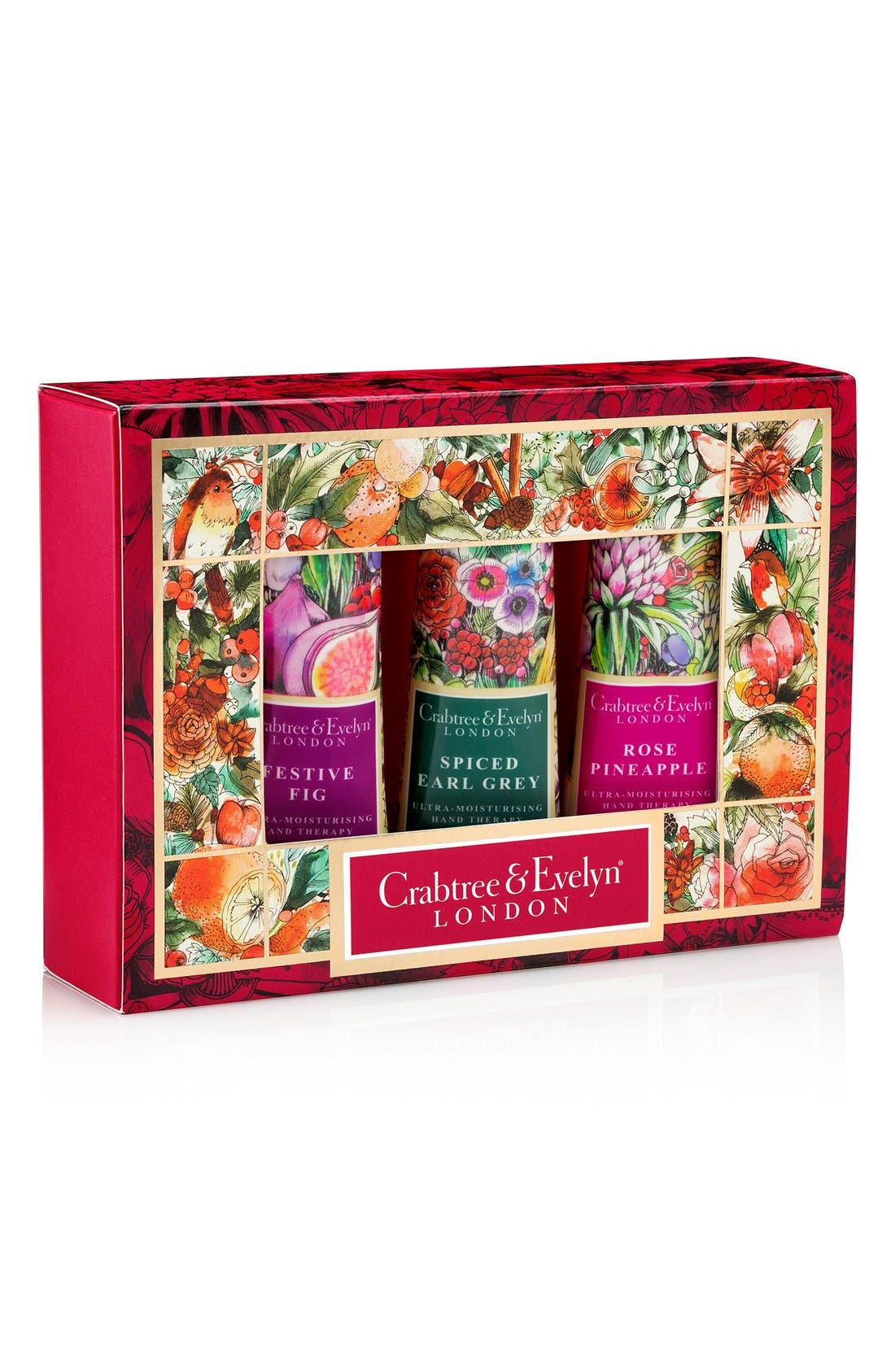 Crabtree & Evelyn Holiday Hand Therapy Sampler Set (Limited Edition)