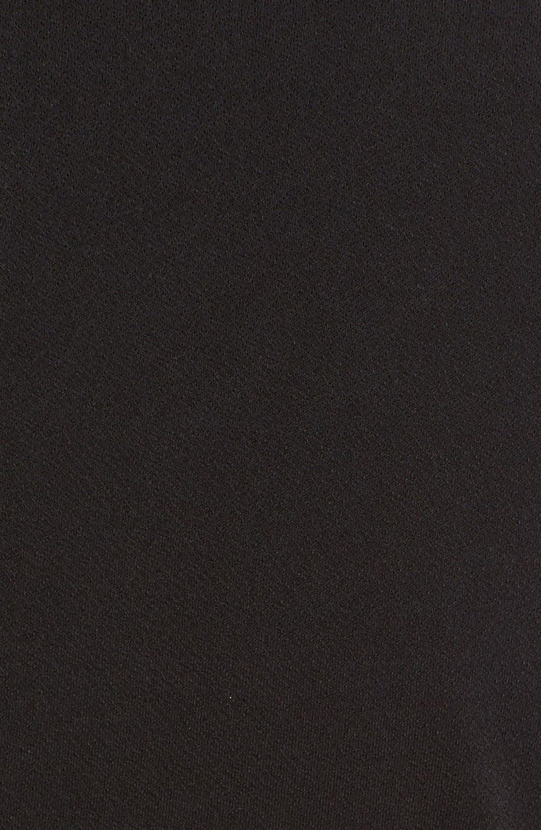 Alternate Image 5  - Alice + Olivia Madie Mesh Panel Body-Con Dress