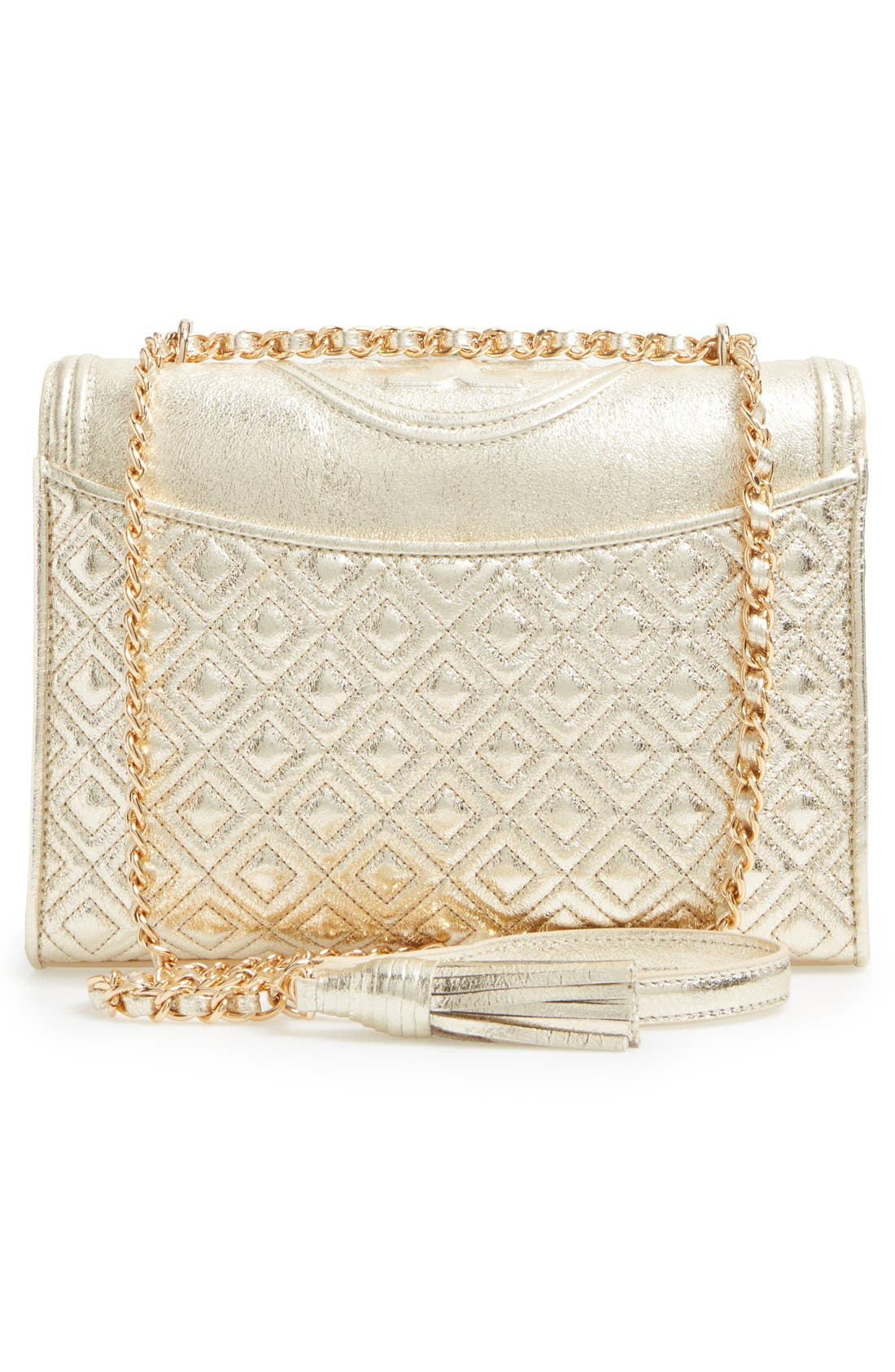Alternate Image 3  - Tory Burch Fleming Leather Shoulder Bag