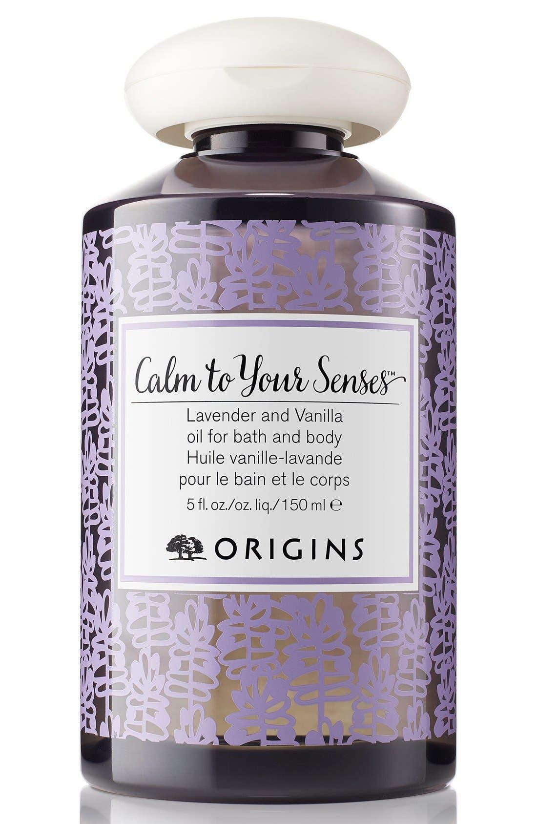 Origins Calm To Your Senses™ Lavender and Vanilla Oil for Bath and Body