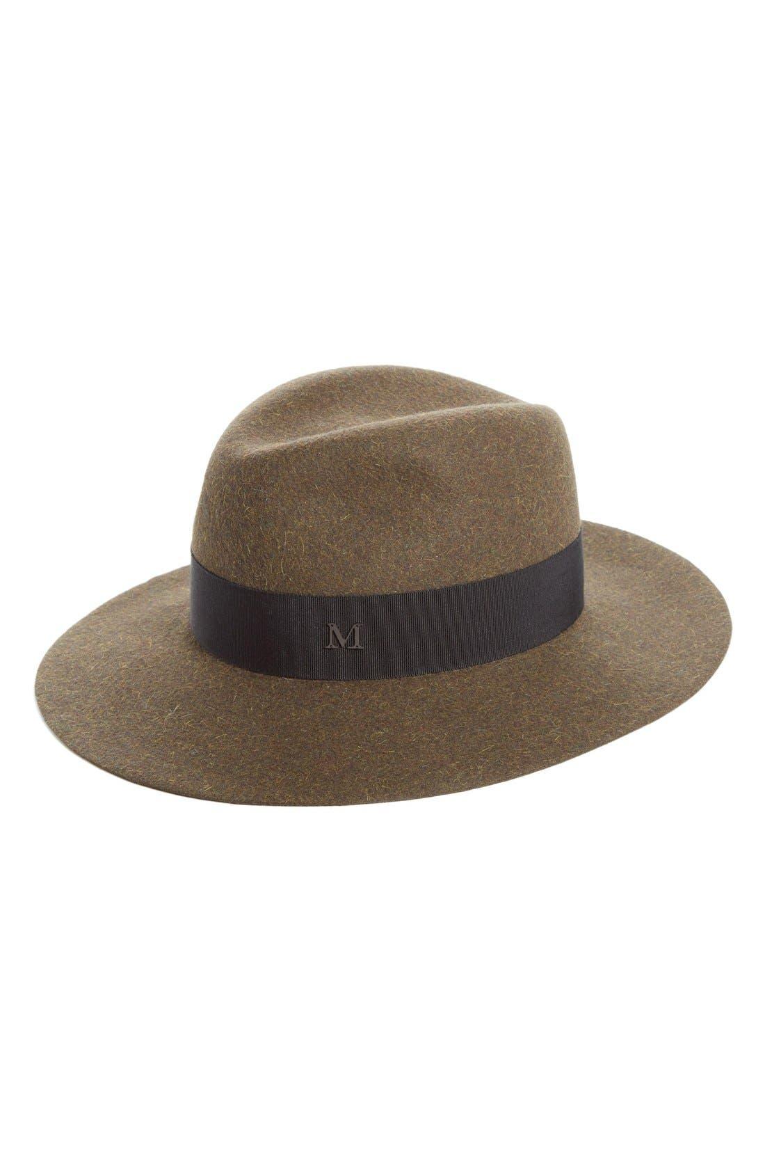 MAISON MICHEL Henrietta Genuine Fur Felt Hat