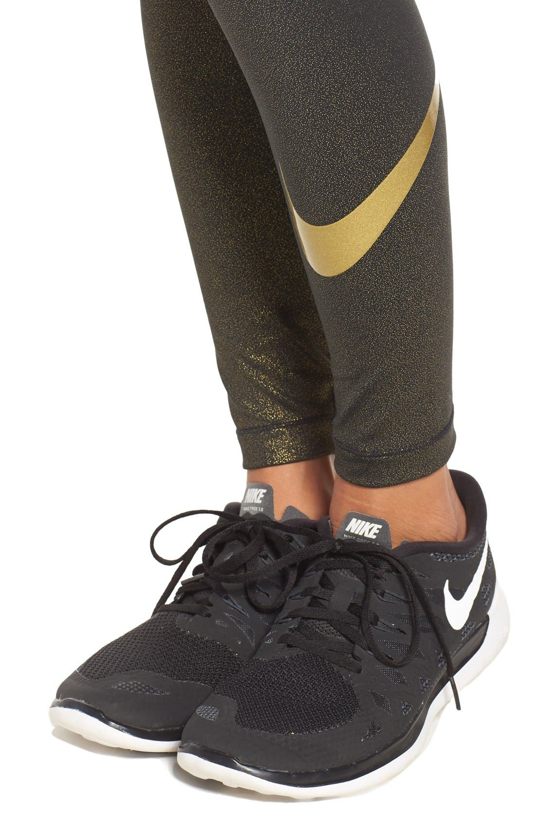 Alternate Image 4  - Nike Pro Cool Dri-FIT Training Tights