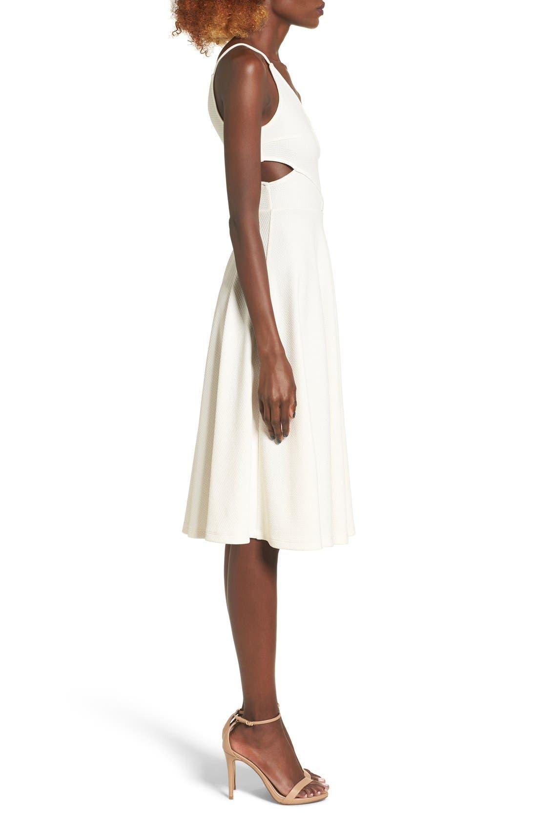 Alternate Image 3  - Soprano Cutout Midi Dress