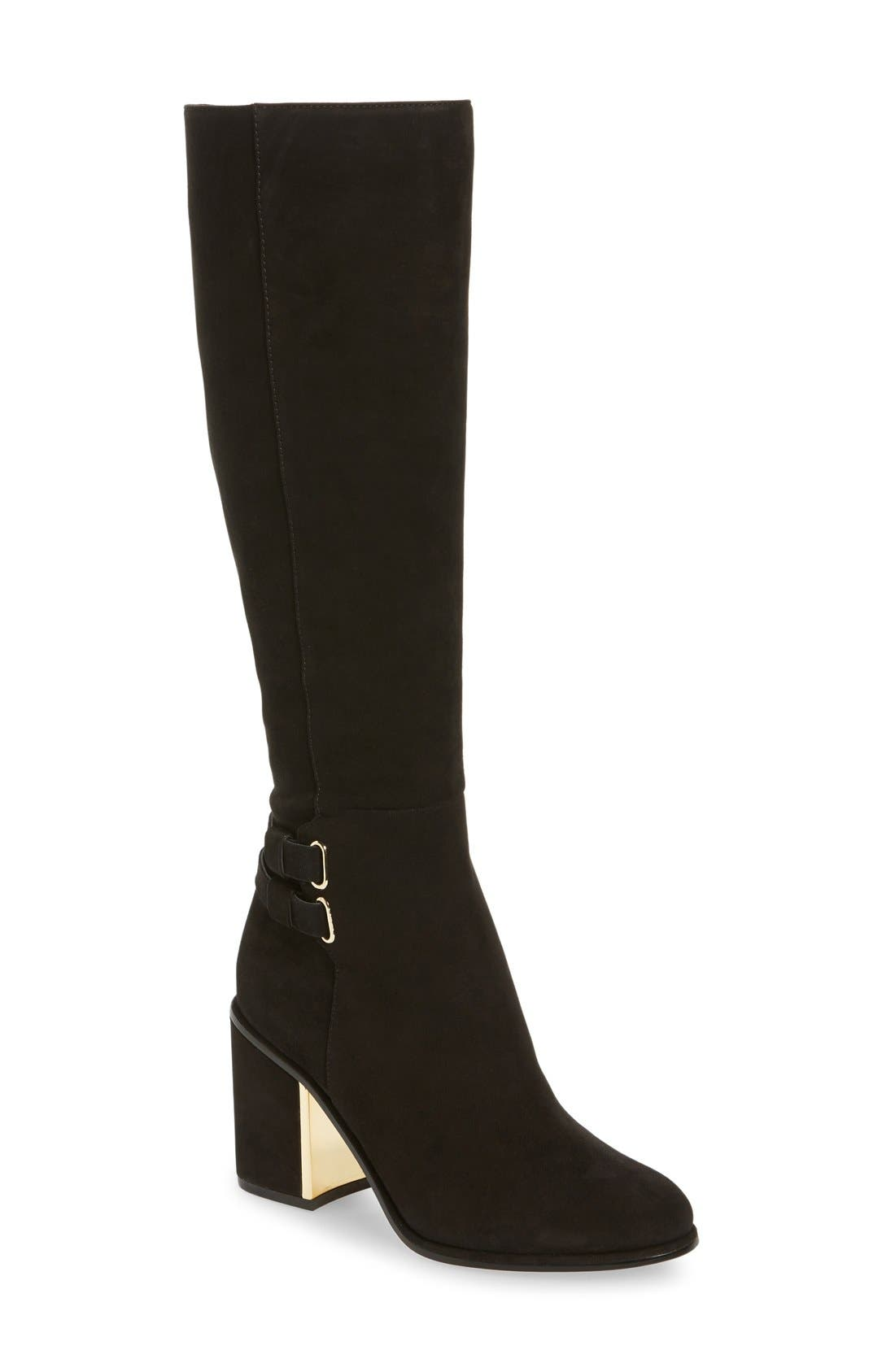 CALVIN KLEIN Camie Water Resistant Knee High Boot