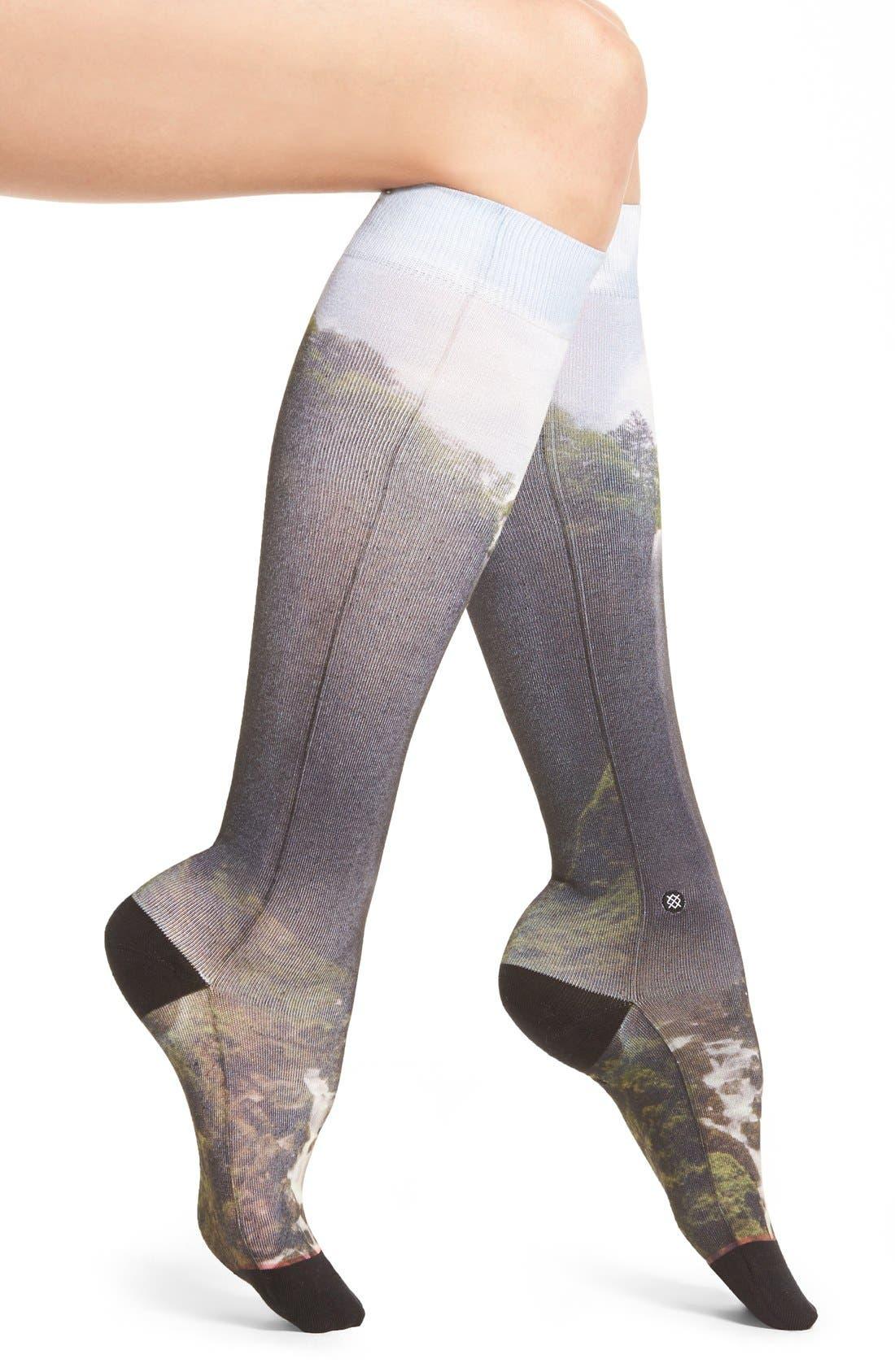 Alternate Image 1 Selected - Stance Earth Vs. Cosmo Knee Socks