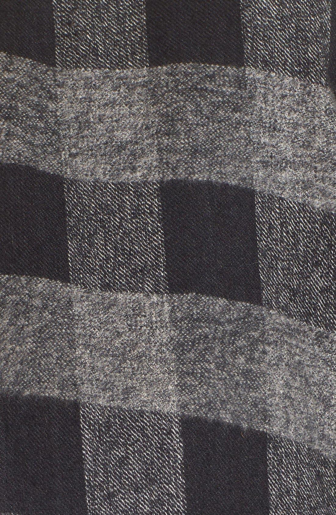 Alternate Image 5  - Sole Society Check Print Wrap