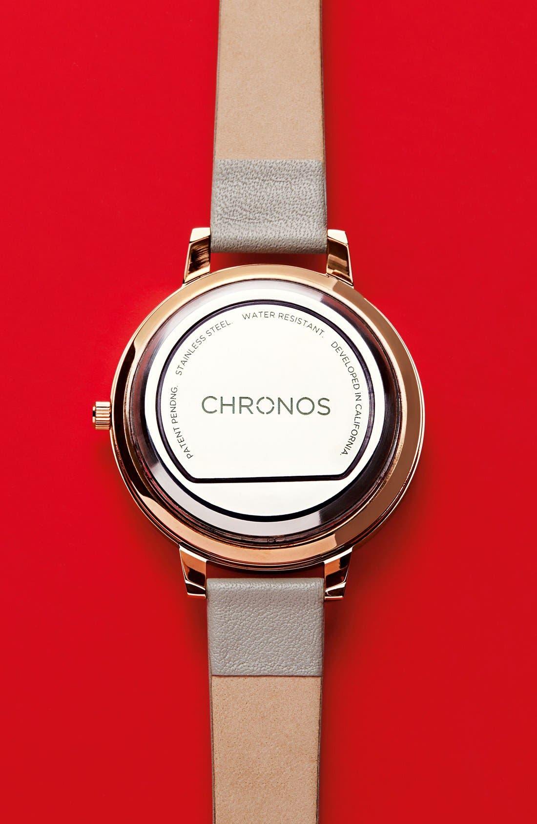 Alternate Image 16  - Chronos Watch 33mm Smart Disc