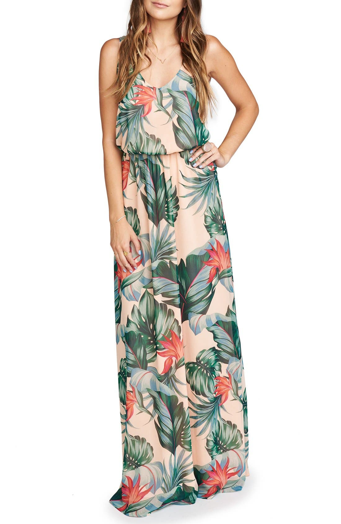 Show Me Your Mumu Kendall Soft V-Back A-Line Gown
