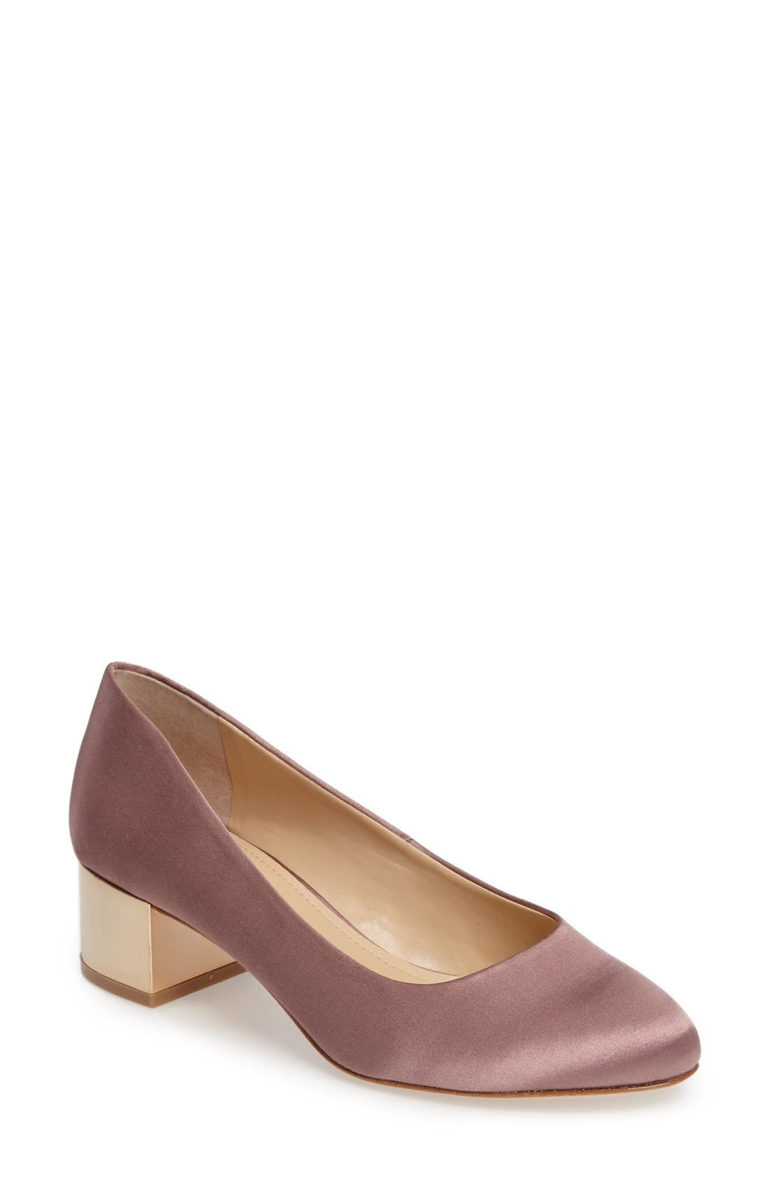 Imagine by Vince Camuto Helsh Block Heel Pump (Women)