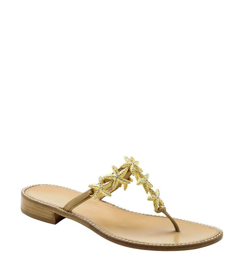 Stuart Weitzman Gold Baby Shoes