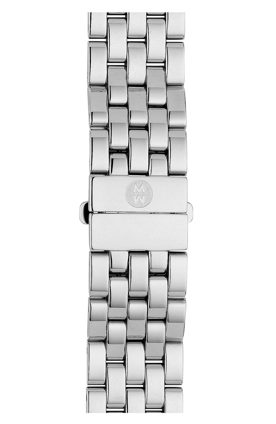 Alternate Image 1 Selected - MICHELE Urban Mini 16mm Stainless Steel Bracelet Watchband