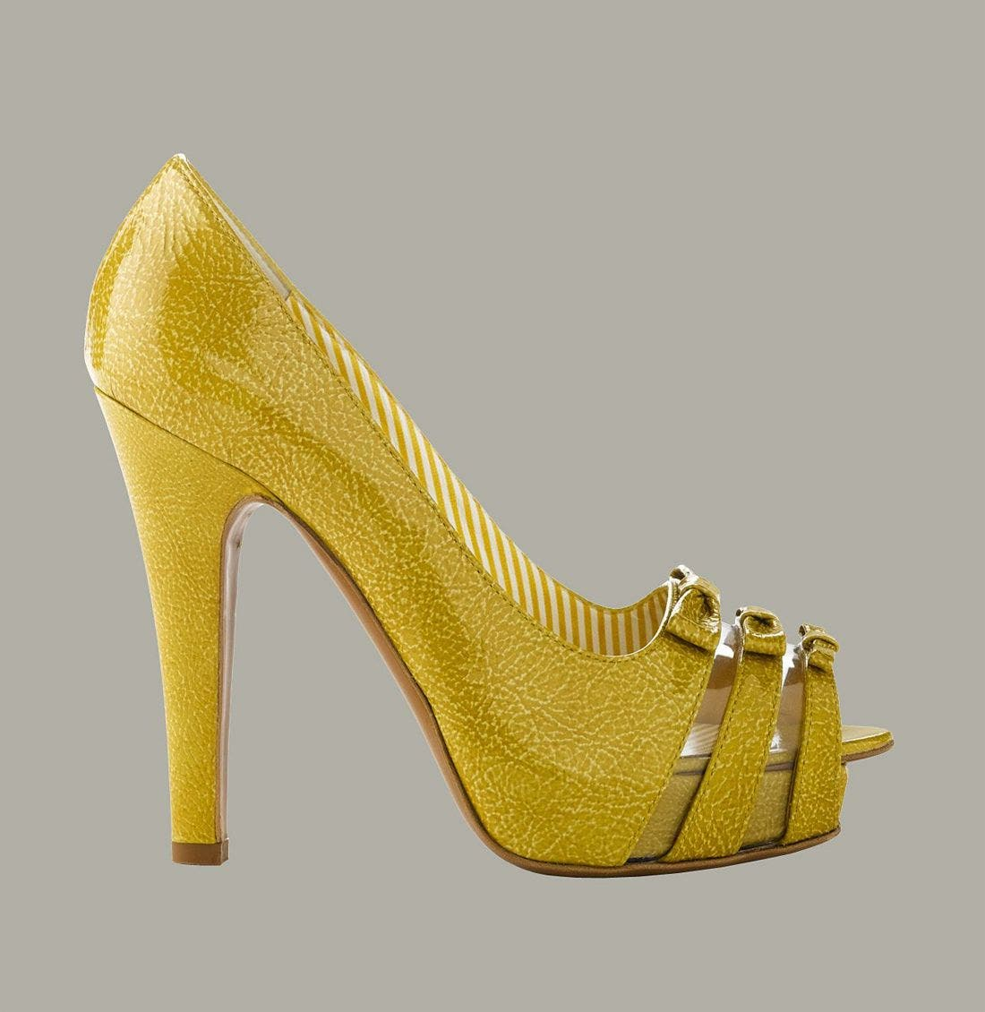 Alternate Image 2  - Moschino Platform Pump with Triple Bow Detail