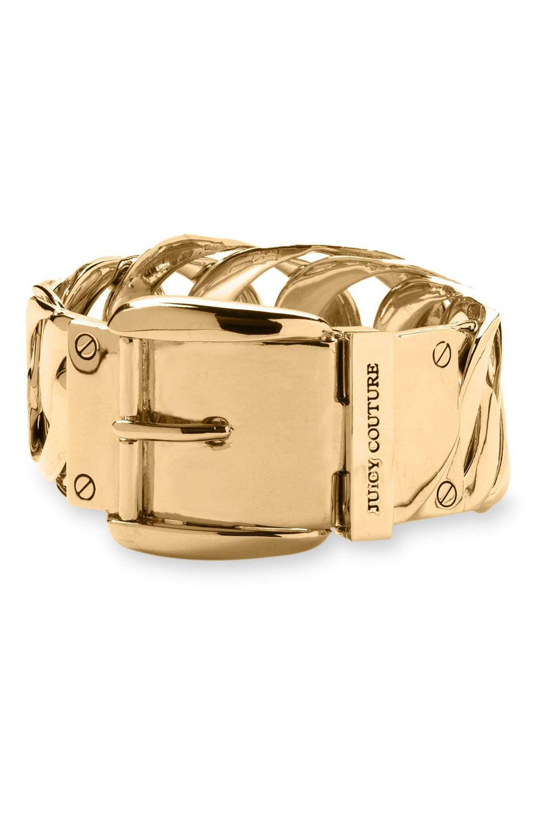 Alternate Image 1 Selected - Juicy Couture Buckle Bracelet