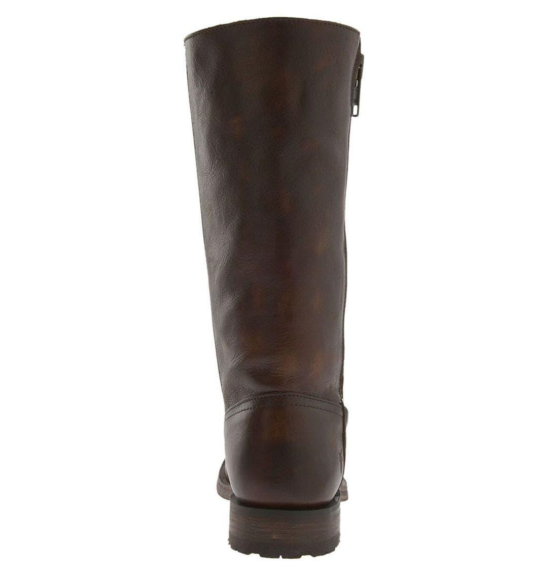 Alternate Image 4  - Frye 'Heath' Outside Zip Boot