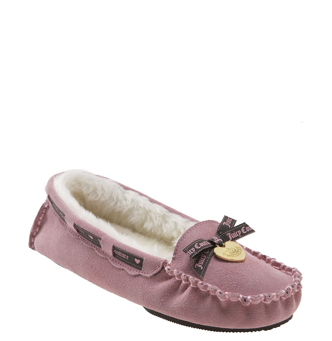 Alternate Image 1 Selected - Juicy Couture 'Sleepy' Moccasin Slipper