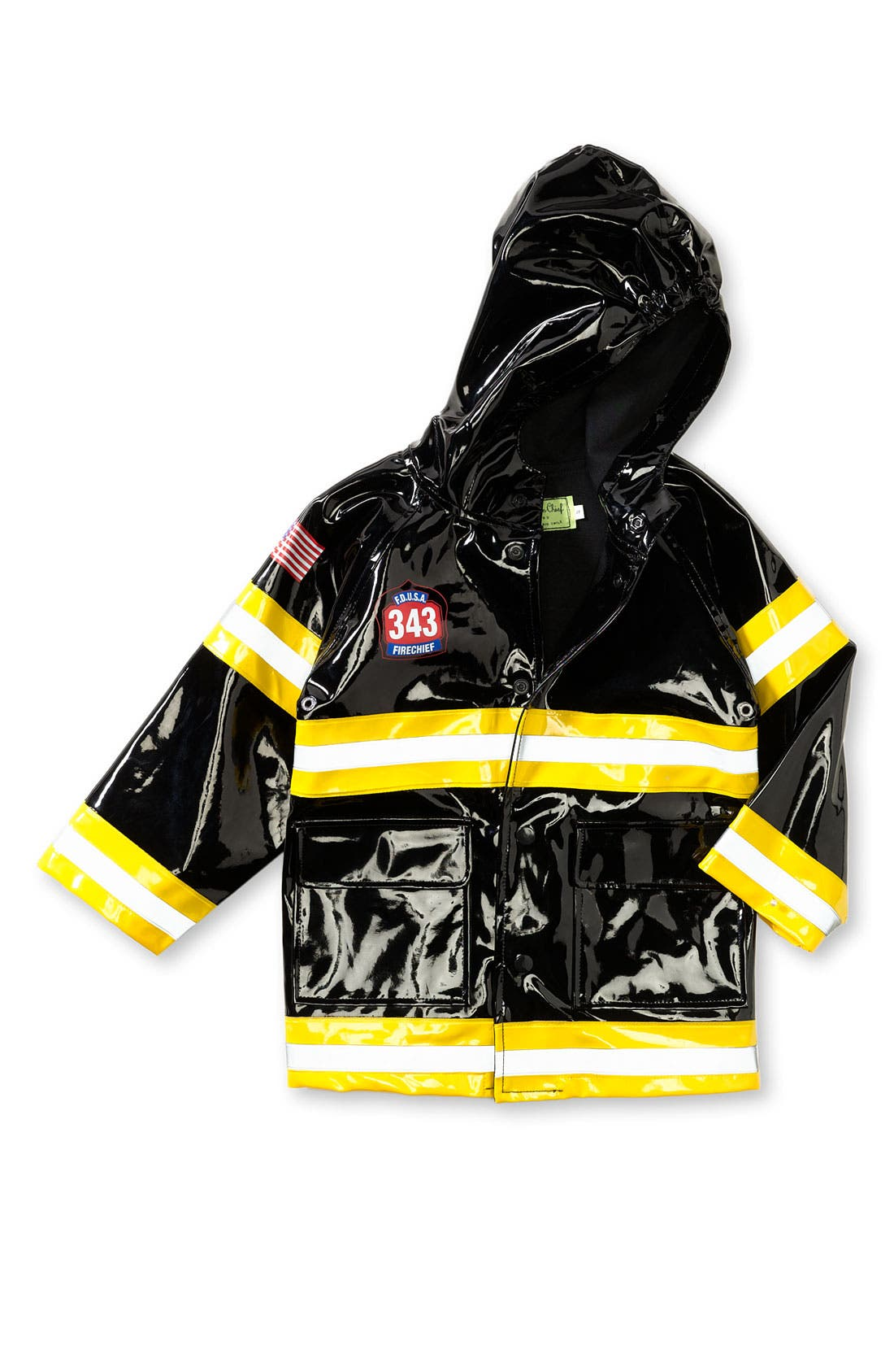 Alternate Image 1 Selected - Western Chief 'Fireman' Raincoat (Toddler & Little Kid)