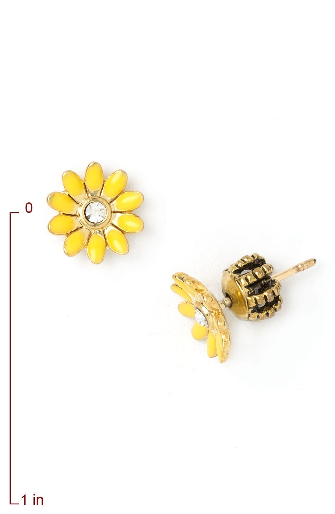 Alternate Image 2  - Juicy Couture 'Daisy' Stud Earrings