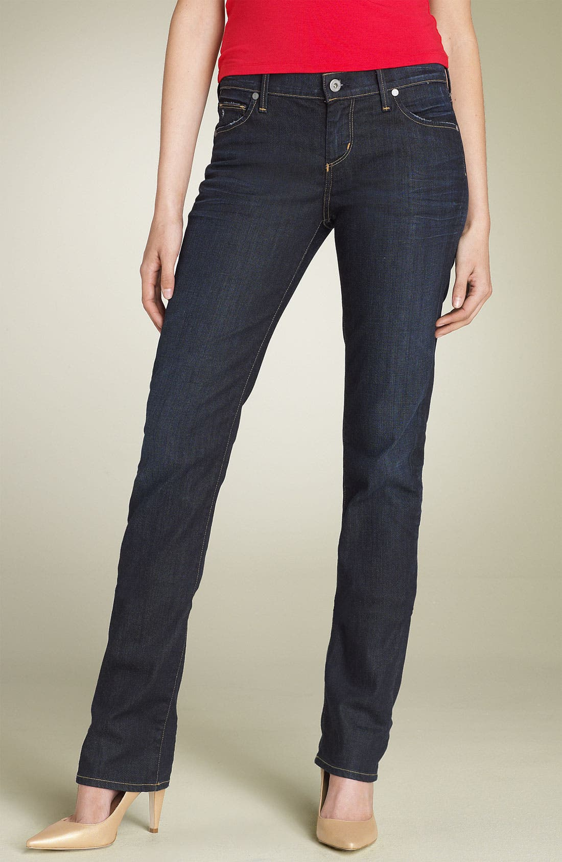 Alternate Image 2  - Citizens of Humanity 'Ava' Straight Leg Stretch Jeans (Faith Wash)