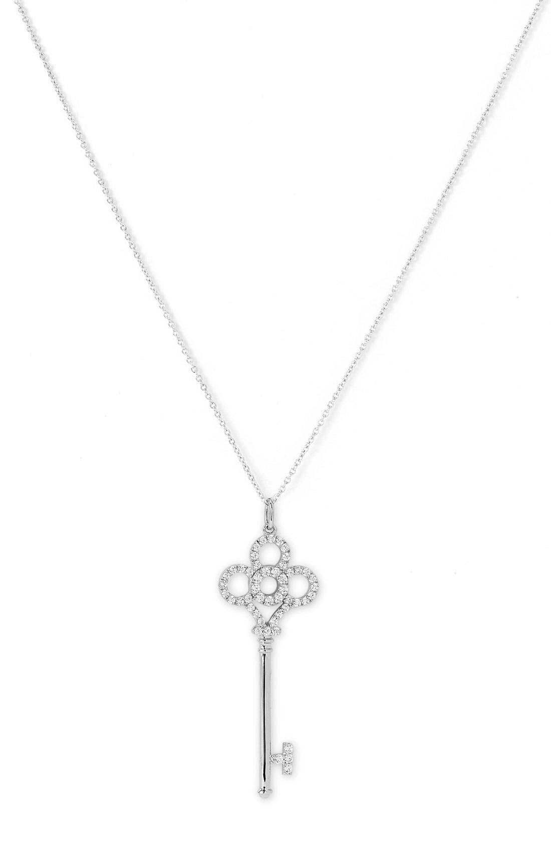 Alternate Image 1 Selected - Nordstrom Key Pendant Necklace