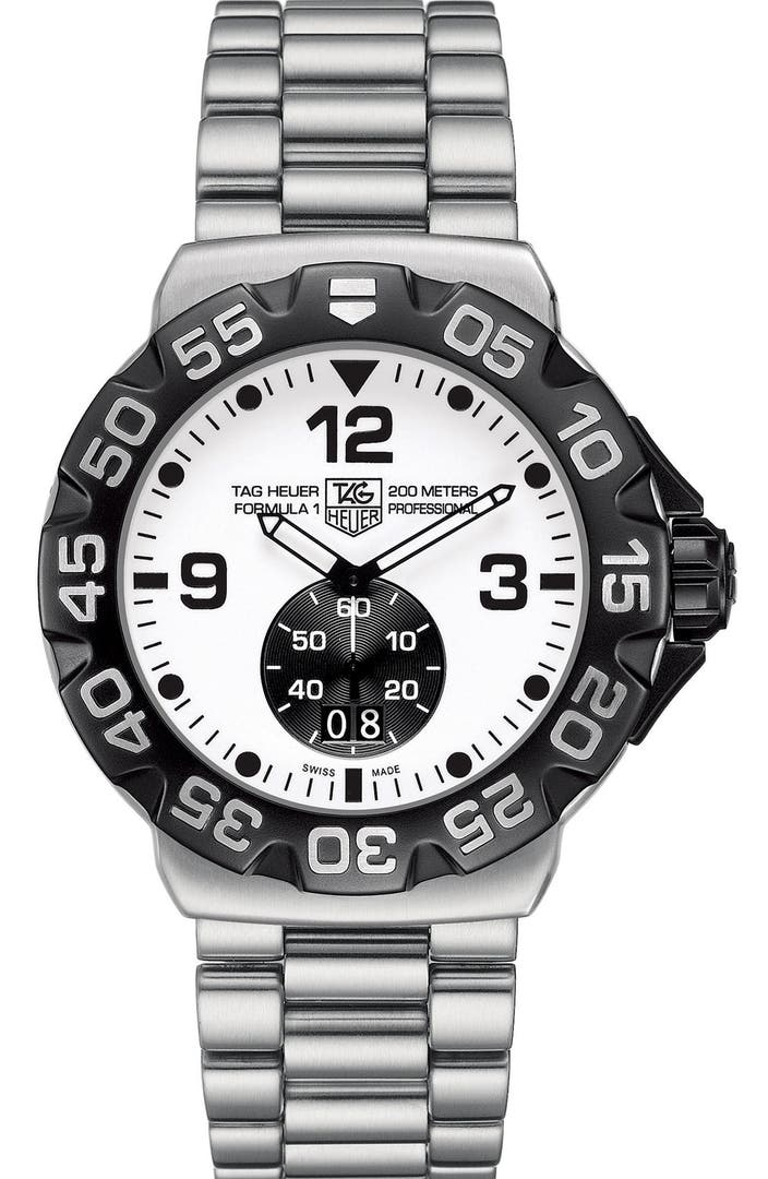 Tag heuer 39 formula 1 39 luminescent dial watch nordstrom for Luminescence watches