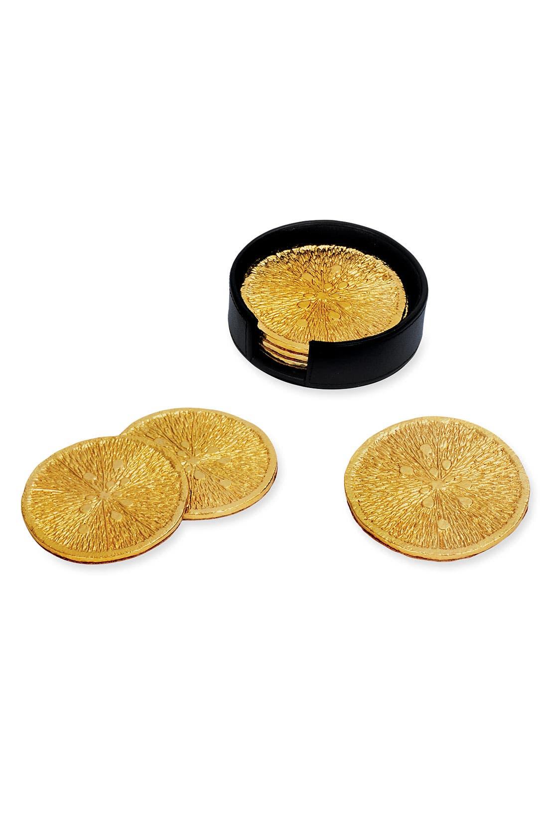Alternate Image 1 Selected - Michael Aram 'Lemonwood' Coasters (Set of 6)
