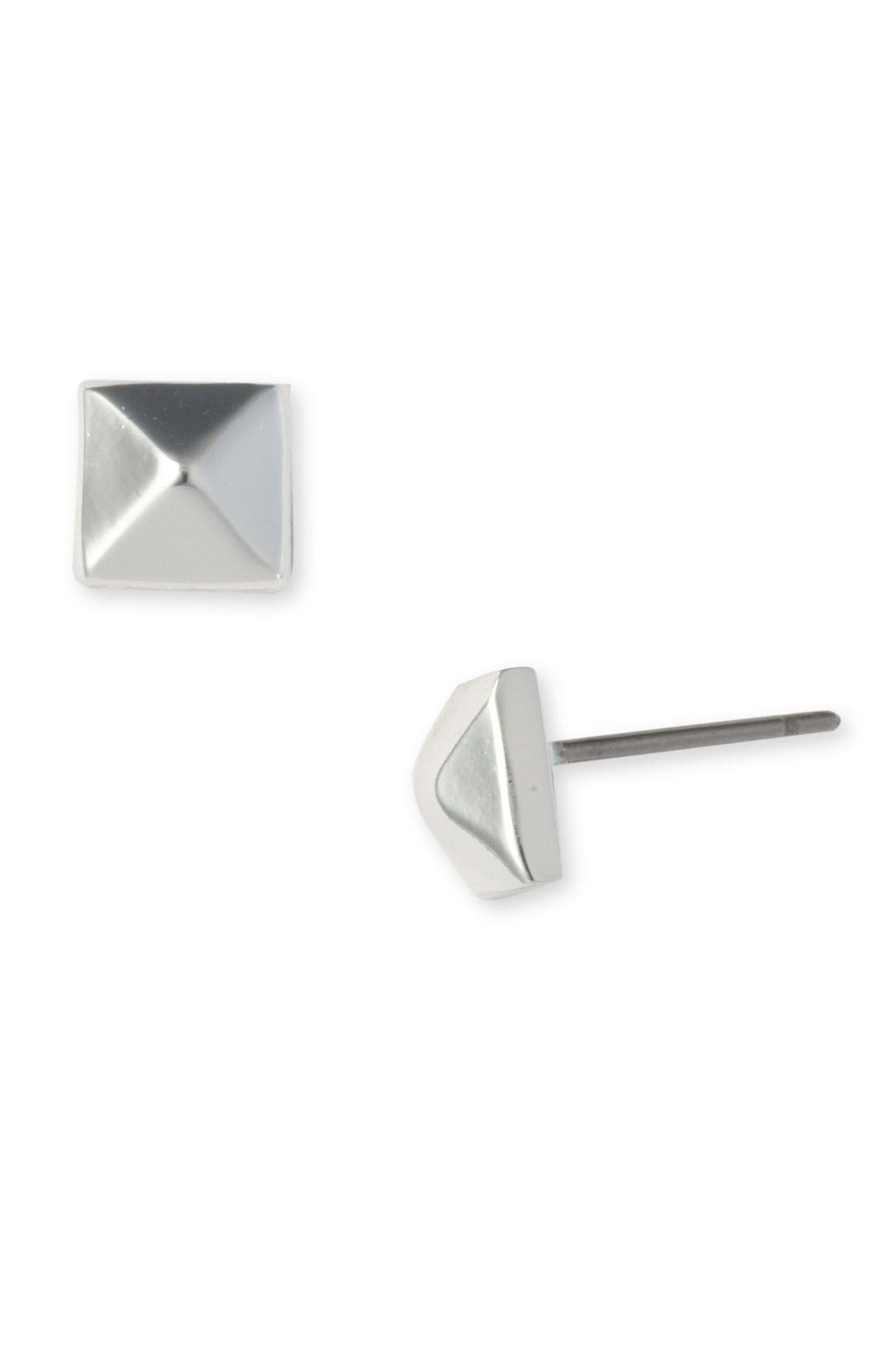 Main Image - Nordstrom Small Pyramid Stud Earrings