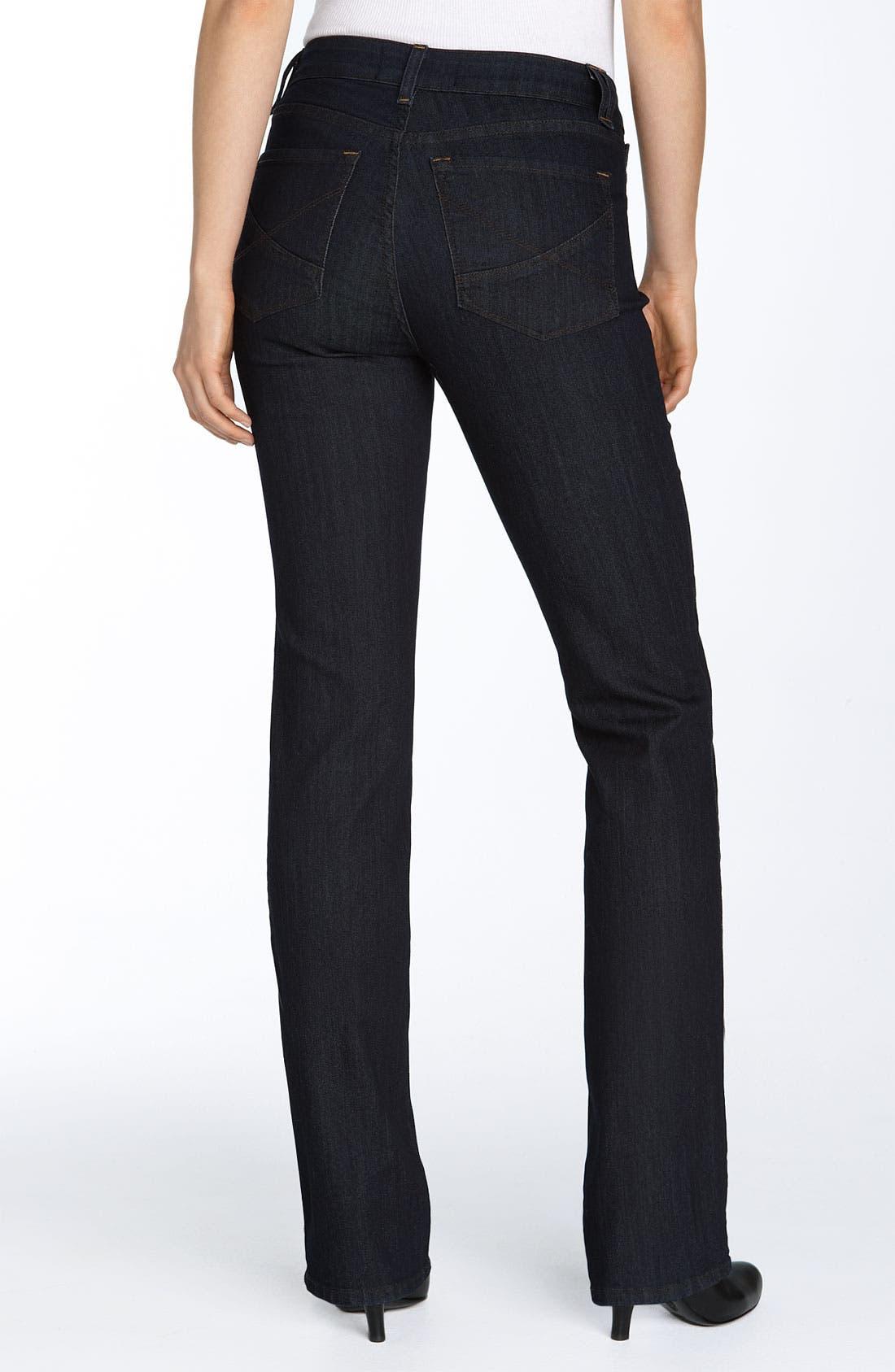 Alternate Image 2  - NYDJ 'Hayden' Stretch Straight Leg Jeans (Resin)