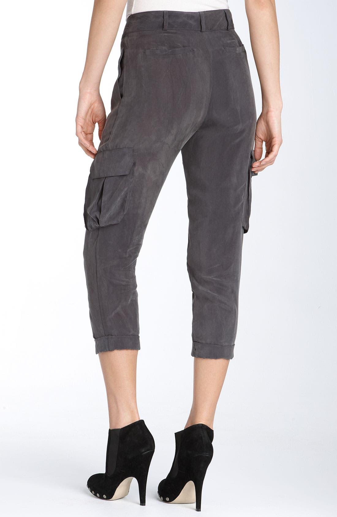 Alternate Image 2  - Ella Moss 'Bronson' Woven Pants