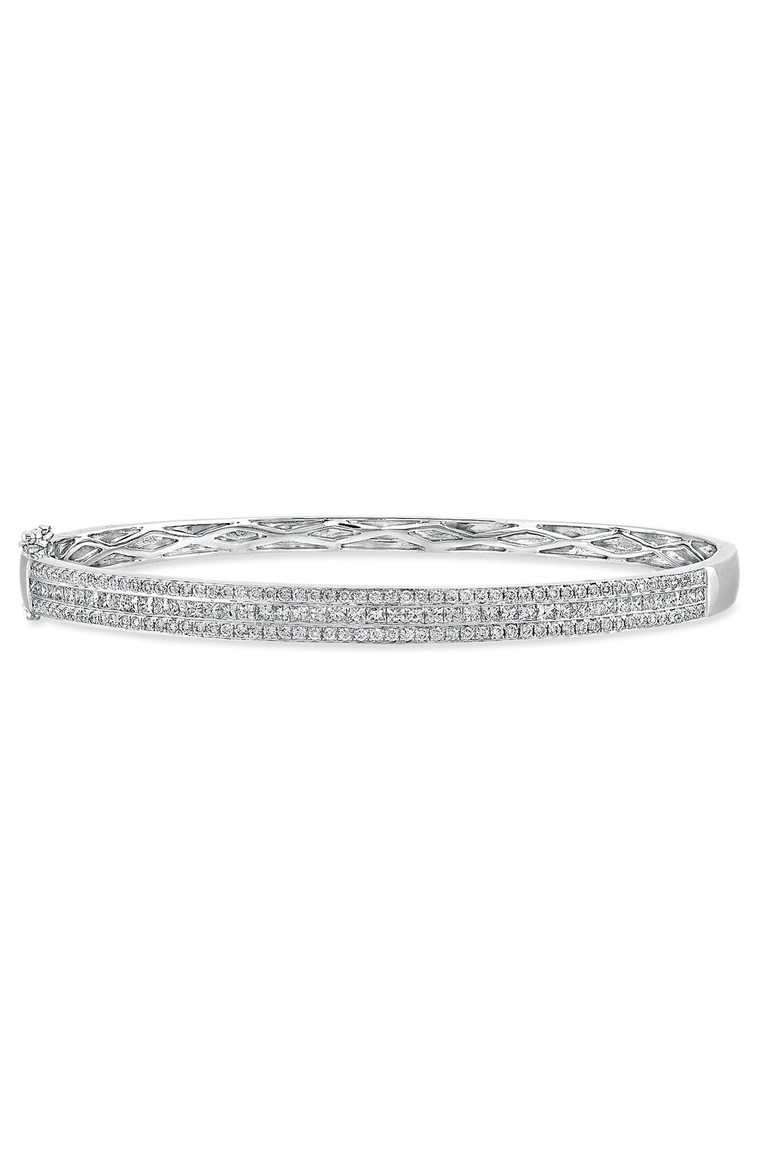 Alternate Image 1 Selected - Bony Levy Diamond Bangle (Nordstrom Exclusive)