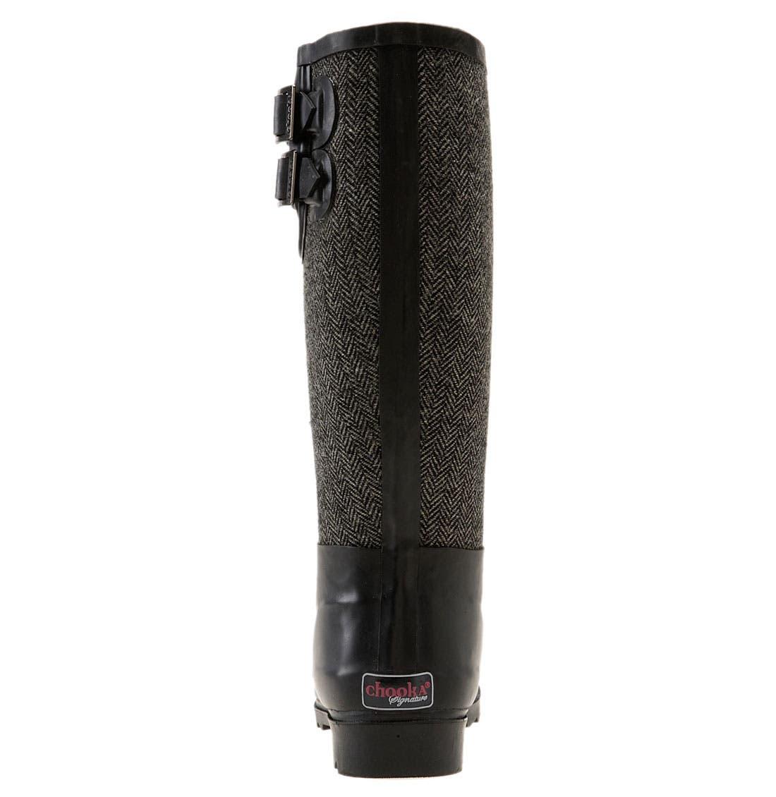Alternate Image 4  - Chooka Signature Herringbone Rain Boot (Women)