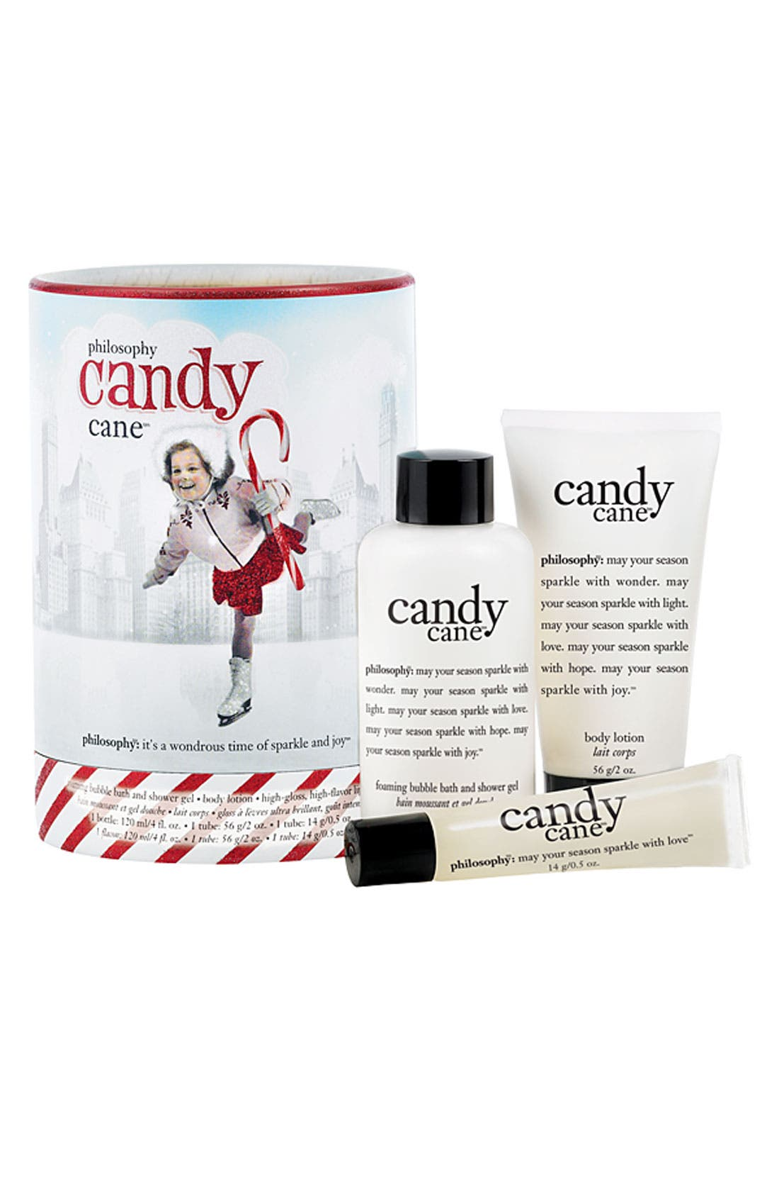 Alternate Image 1 Selected - philosophy 'candy cane' gift set
